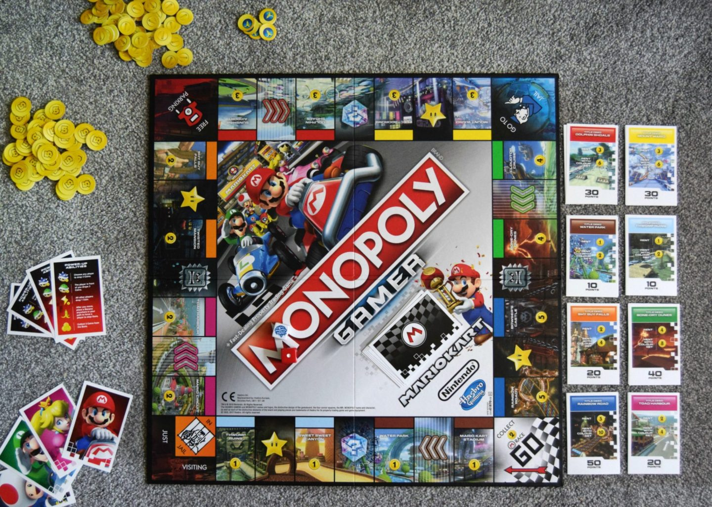 Monopoly Gamer Mariokart Hasbro Toy Tribe Sticky Mud And Belly