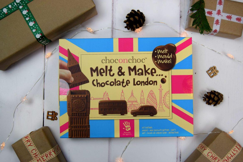Melt and make chocolate London set
