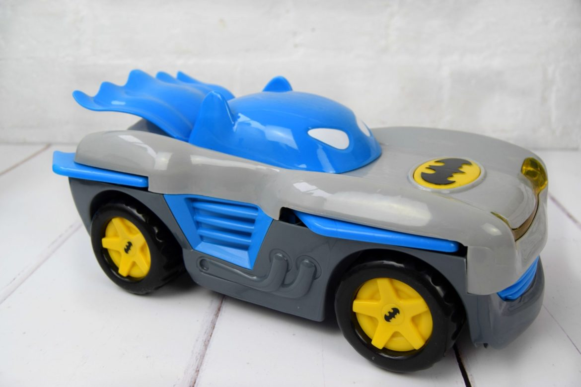 Herodrive Bat Racer Batman toy car.