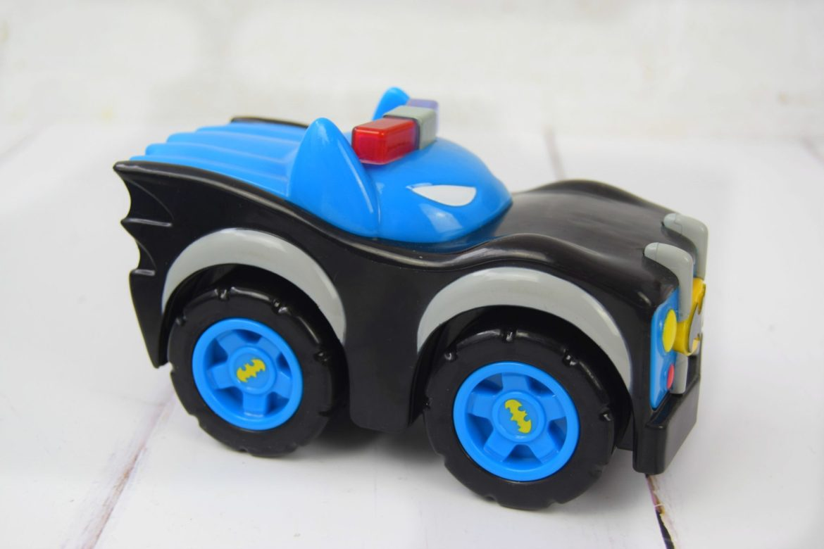 Herodrive Mash Machines Batman toy car with lights and sounds.