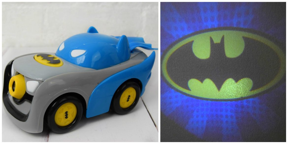 Herodrive Signal Squad Batman toy car with projector.