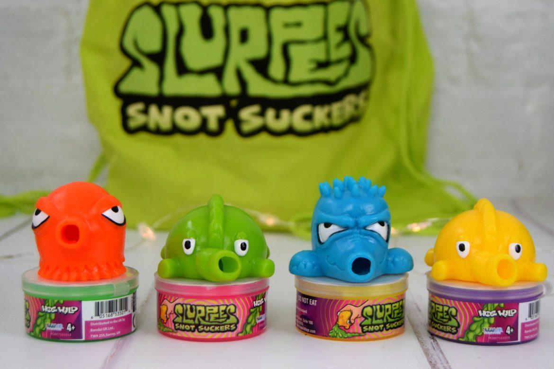 Slurpees Snot Suckers. Slime toys
