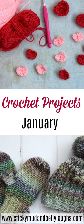 Easy crochet projects #crochet #crochetmittens #crochethat #crochetscarf #crochetcrafts #crafts #handmade