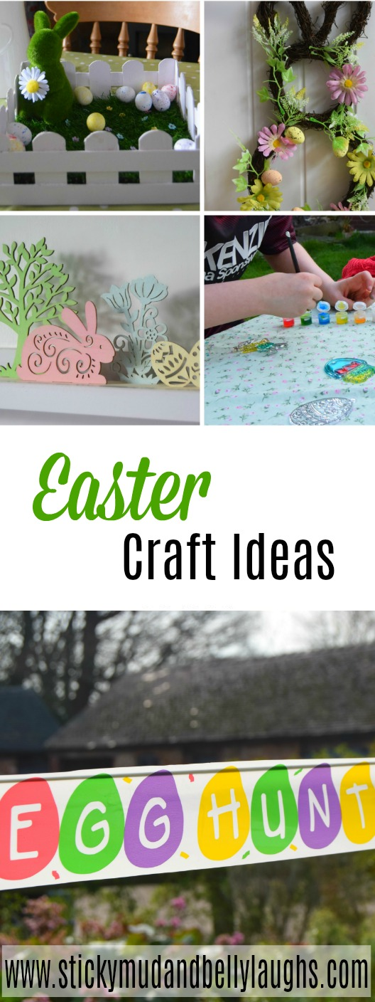If you are looking for some inspiration then why not check out our Easter craft ideas? We have a lovely easter wreath, an easter scene display, suncatchers and a table centrepiece. #Eastercrafts #Decorativewreath #suncatchers #easycrafts