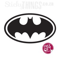 Superhero Boys Wall Decal - Batman Wallpaper-like Sticker