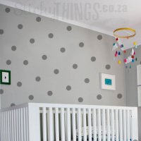 Large Polka Dot Wall Sticker - Wall Pattern Decal Stickers
