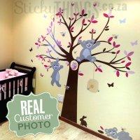 Tatty Teddy Like Tree Wall Sticker - StickyThings.co.za