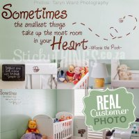 Winnie the Pooh Wall Sticker Quote - StickyThings.co.za