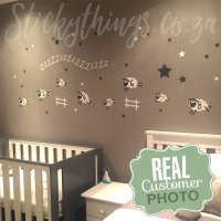 Sheep Baby Room Wall Sticker - Sheep Wall Decal ...