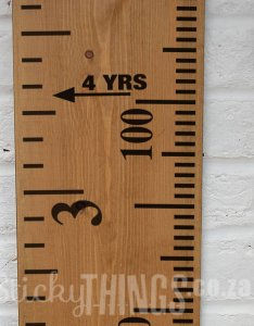 Ruler decal also growth chart sticker wall stickythings rh