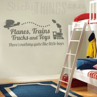Boys Wall Art Sticker