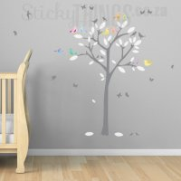 Love Birds Tree Decal and Wall Art - StickyThings.co.za