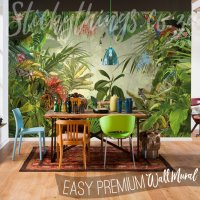 Jungle Wall Mural - Into the Wild Wallpaper Mural ...