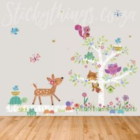 forest-friends-wall-decal  StickyThings Wall Stickers ...