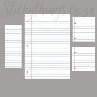 Dry Erase Decal Set - White Board Peel & Stick Decal ...