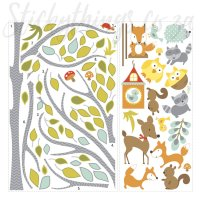 fox-wall-sticker  StickyThings Wall Stickers South Africa%