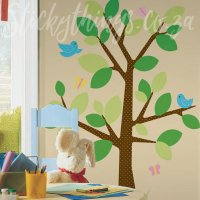 Spot the Tree Decal - Dotted Tree Giant Wall Decal ...
