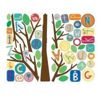 Alphabet Tree Wall Sticker