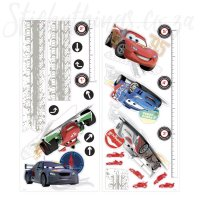 Disney Cars Growth Chart Wall Sticker - Growth Chart Decal ...