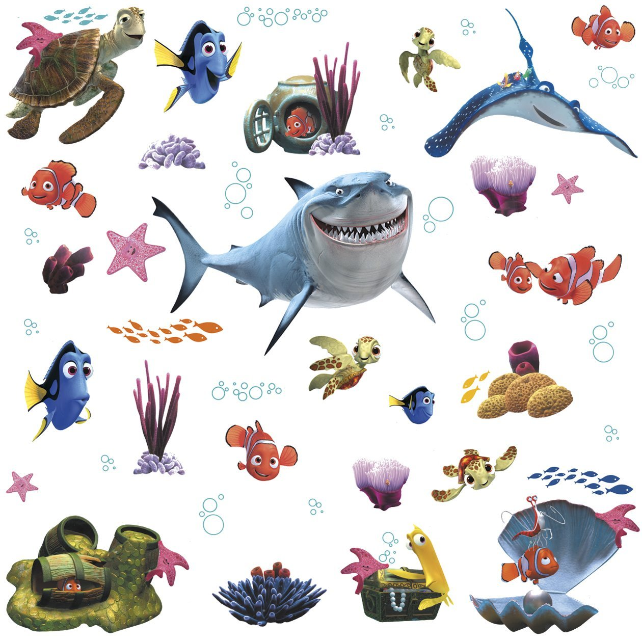 Finding Nemo Wall Stickers