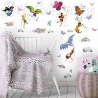 Disney Glitter Fairies Wall Sticker - Disney Fairies Wall ...