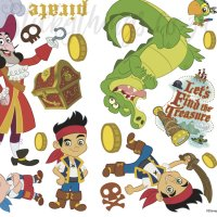 Disney Jake and the Never Land Pirates Wall Decals ...