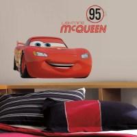 Disney Lightning McQueen Wall Decal - Lightning McQueen ...