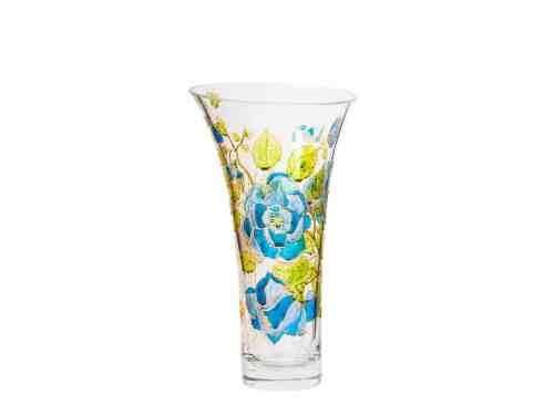 Vaza Cu Trandafiri Albastri