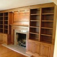 Fireplace Cabinets | Stigler's Woodworks | Cincinnati, OH