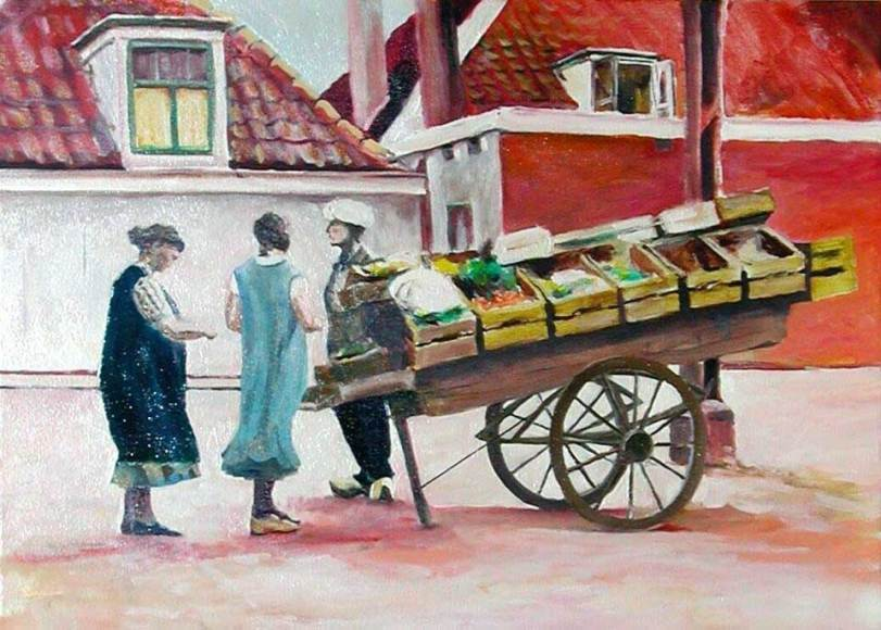 oil acrylic paintings Wilfred stijger