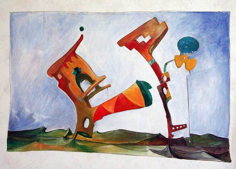 Wilfred Stijger artist painting surreal