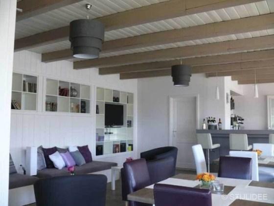 Eetkamer Hotel in Oostenrijk na STIJLIDEE Interieuradvies en Styling