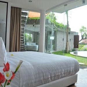 Slaapkamer van Hotel op Bali na STIJLIDEE's Interieuradvies en Styling