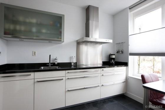 Keuken in Hooglanderveen bij Amersfoort na STIJLIDEE's Interieuradvies