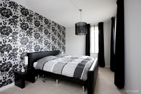 Slaapkamer in Hooglanderveen bij Amersfoort na STIJLIDEE's Interieuradvies