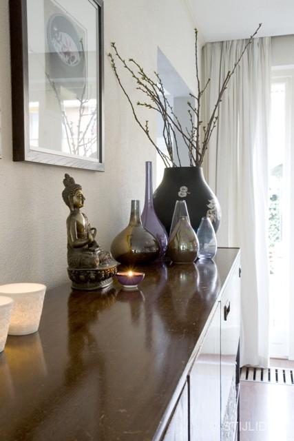 Styling boeddha en vazen na STIJLIDEE Interieuradvies en Styling
