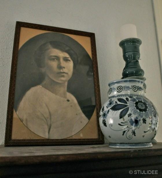 styling vintage fotolijst woonkamer Vleuten na STIJLIDEE interieuradvies