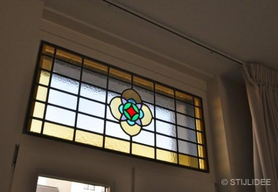 glas in lood raam na STIJLIDEE Interieuradvies en Styling