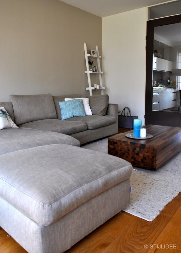 Binnenkijken in  een woonkamer in modern landelijke stijl