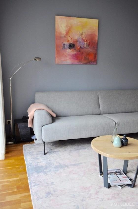 Binnenkijken in ... een woonkamer in Modern Scandinavische stijl in Nieuwegein na STIJLIDEE Interieuradvies en Styling