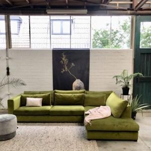 Inspiratie bij ... de nieuwe zitbanken showroom van 4x6 Sofa in Naarden | Fotografie: STIJLIDEE Interieuradvies en Styling