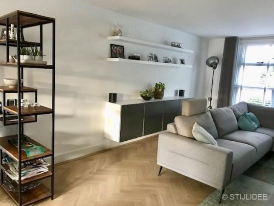 Binnenkijken in ... een woonkamer in modern klassieke stijl in Meteren na STIJLIDEE's Interieuradvies en Styling