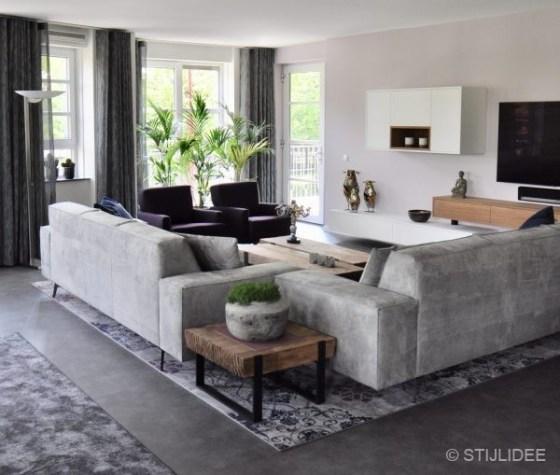 NA | Binnenkijken na een interieur metamorfose in moderne design stijl in Nieuwegein | STIJLIDEE Interieuradvies en Styling