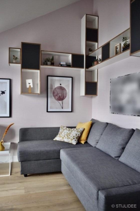 Binnenkijken in ... de slaapkamers, badkamers en werkkamer van een nieuwbouw stadswoning in moderne design stijl in Utrecht na STIJLIDEE's Interieuradvies, Kleuradvies en Styling
