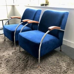 Binnenkijken in ... een woning met blauwe design fauteuils in Odijk na STIJLIDEE Interieuradvies, Kleuradvies en Styling