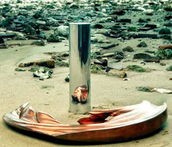 Stijlmagazine-kunst-art-Jonty Hurwitz-anamorfose-hand-1
