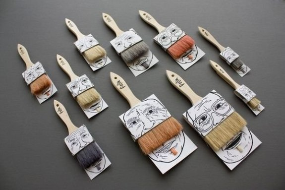Stijlmagzine- verpakking designs-verfbaard