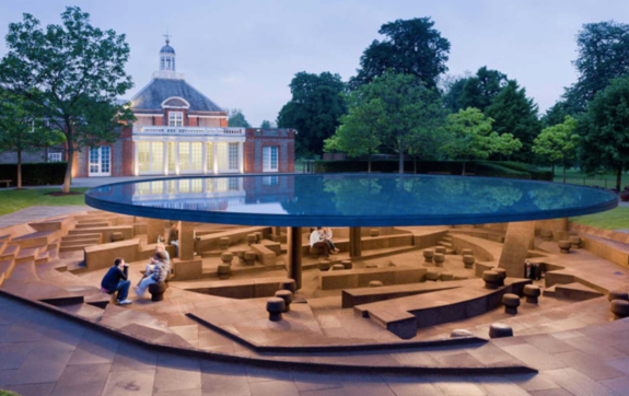 Serpentine Gallery Pavilion 2012 by Herzog & de Meuron and Ai Weiwei- Photo@Iwan Baan