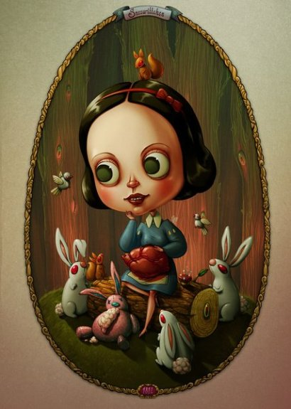 Stijlmagazine-Snow White and a Heart of a Rabbit- Marija Tiurina.1