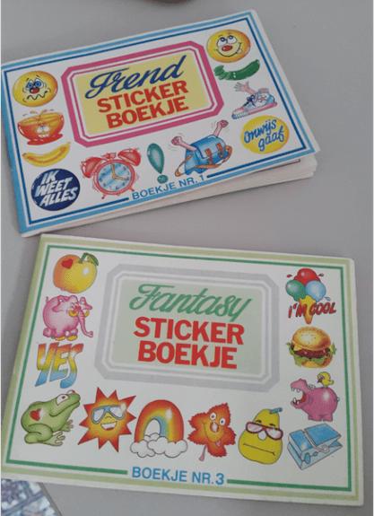 Stijlmagazine-rages-jaren 80 en 90- Stickerboekjes